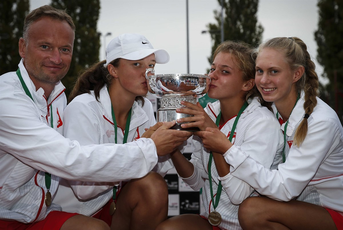 Polônia surpreendeu favoritas russas e americanas na Fed Cup Júnior (Foto: Srdjan Stevanovic/ITF)