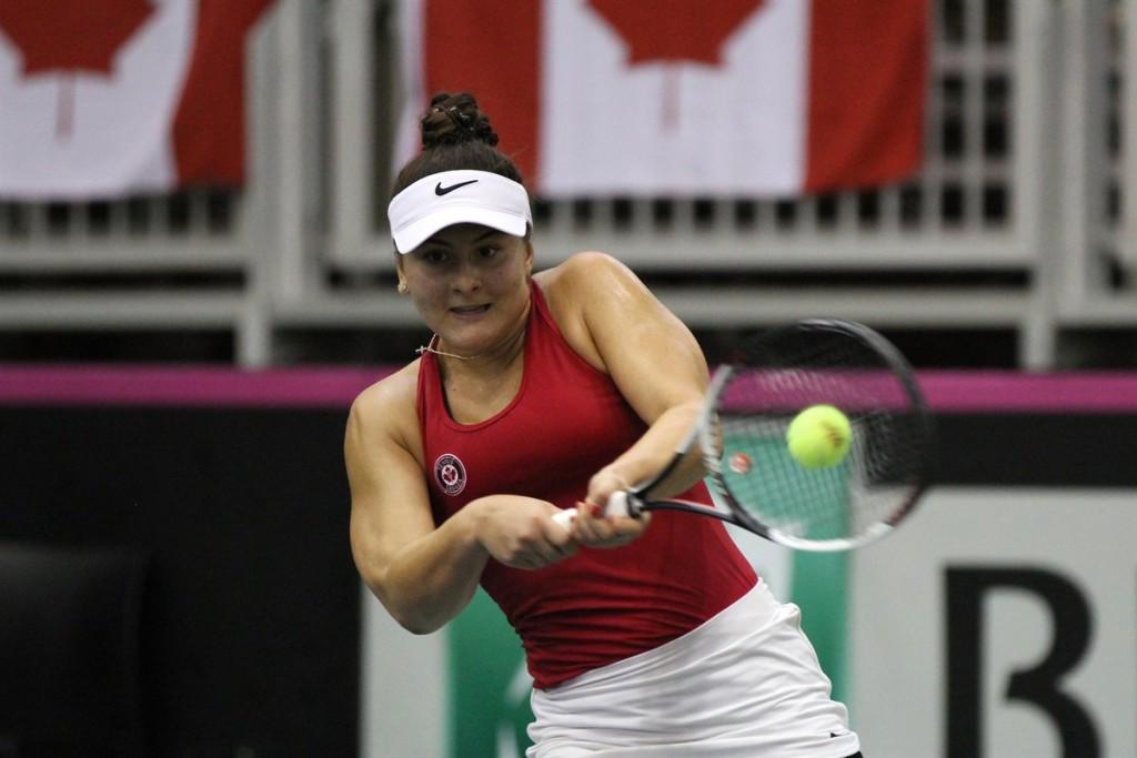 Depois de saltar no ranking, furar o quali de Wimbledon e derrotar uma top 20 em Washington, Andreescu foi eleita a melhor jogadora do Canadá