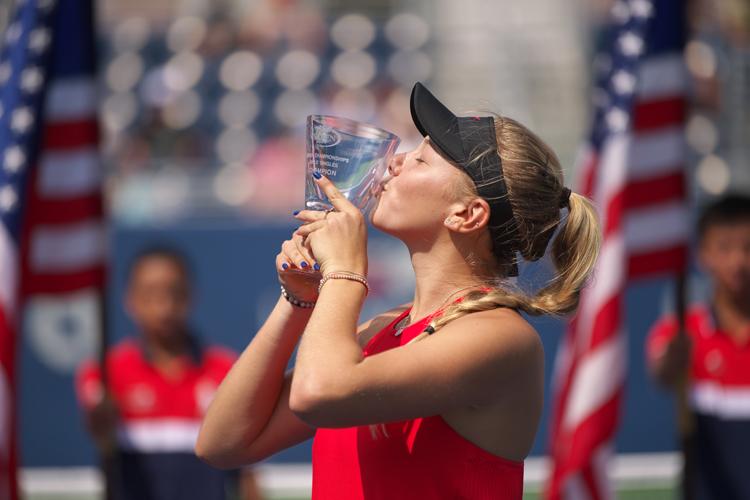 Anisimova foi campeã juvenil do Australian Open e saltou mais de 500 posições na WTA