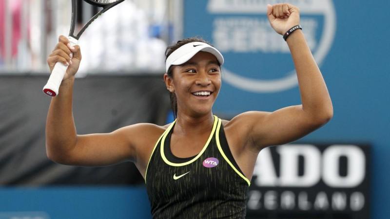 Destanee Aiava, de 17 anos foi a primeira jogadora nascida nos anos 2000 a vencer um jogo de WTA