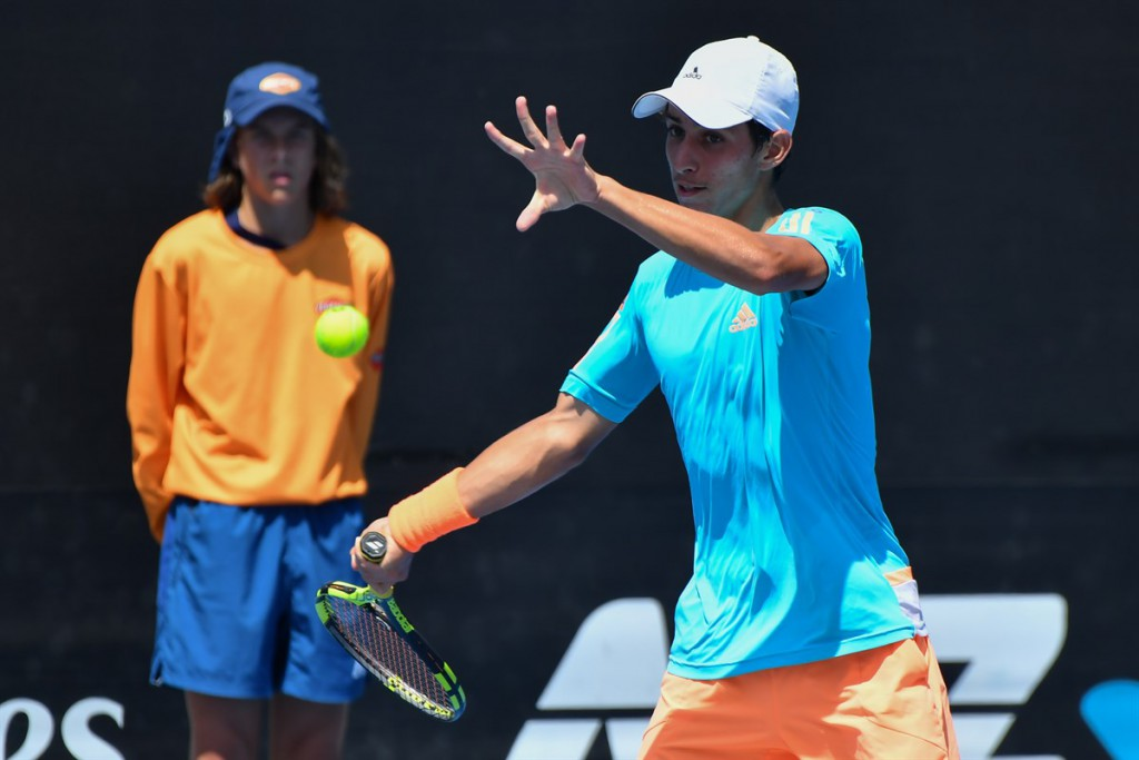 Igor Gimenez foi o brasileiro de melhor campanha, ao chegar às oitavas (Foto: Martin Sidorjak/ITF)