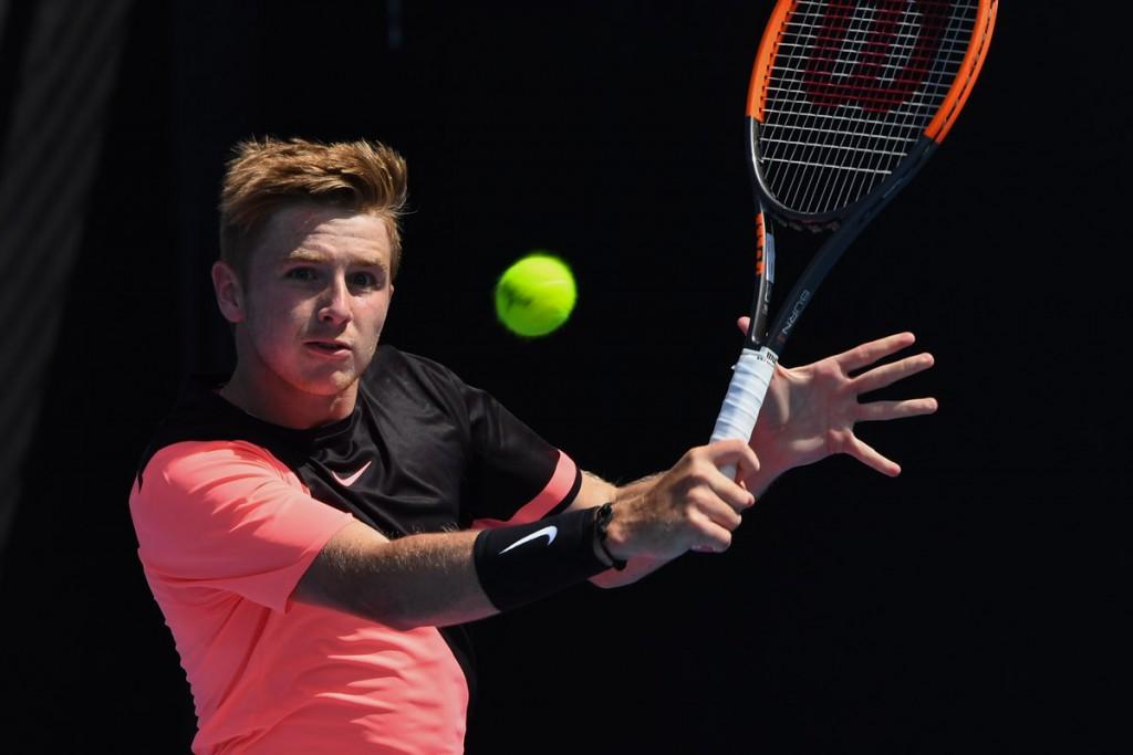 Semifinalista na chave juvenil, Aidan McHugh tem a carreira agenciada por Murray