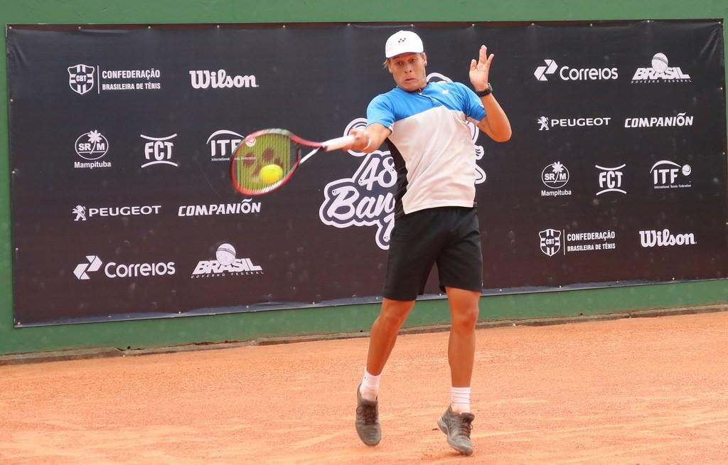O brasiliense Gilbert Klier Júnior teve que iniciar sua temporada mais tarde por conta de lesão (Foto: Matheus Joffre/CBT)