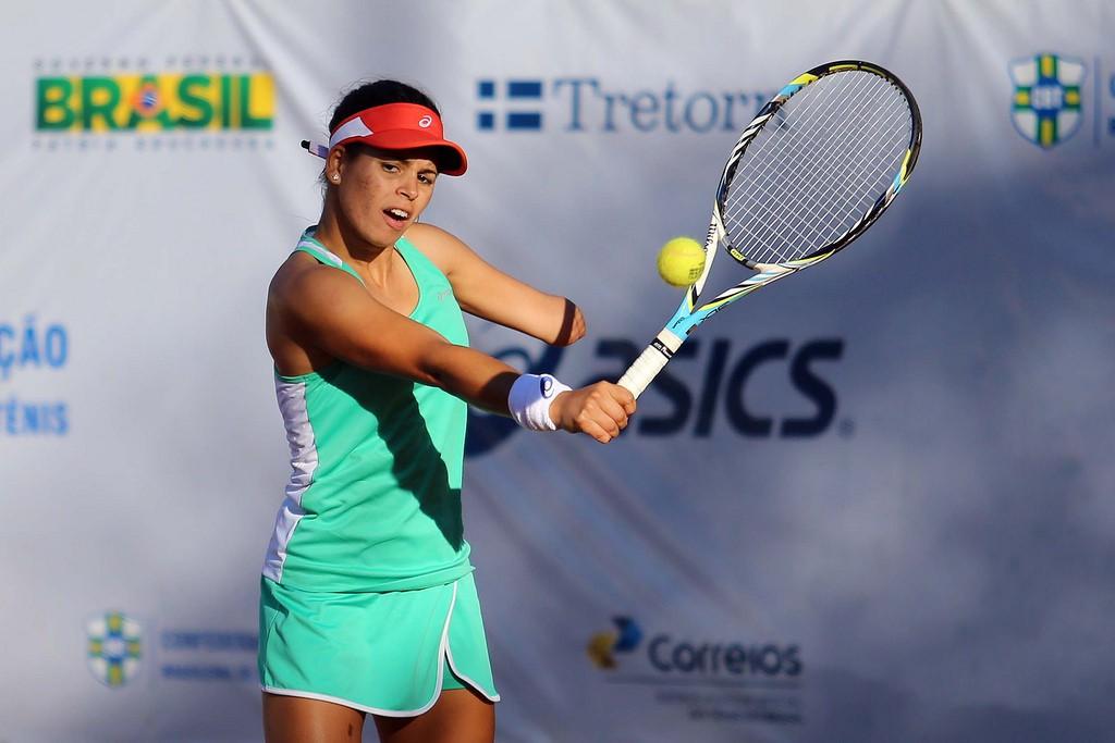A brasiliense Thalita Rodrigues se destacou em competições juvenis no início da década (Foto: Cristiano Andujar/CBT)