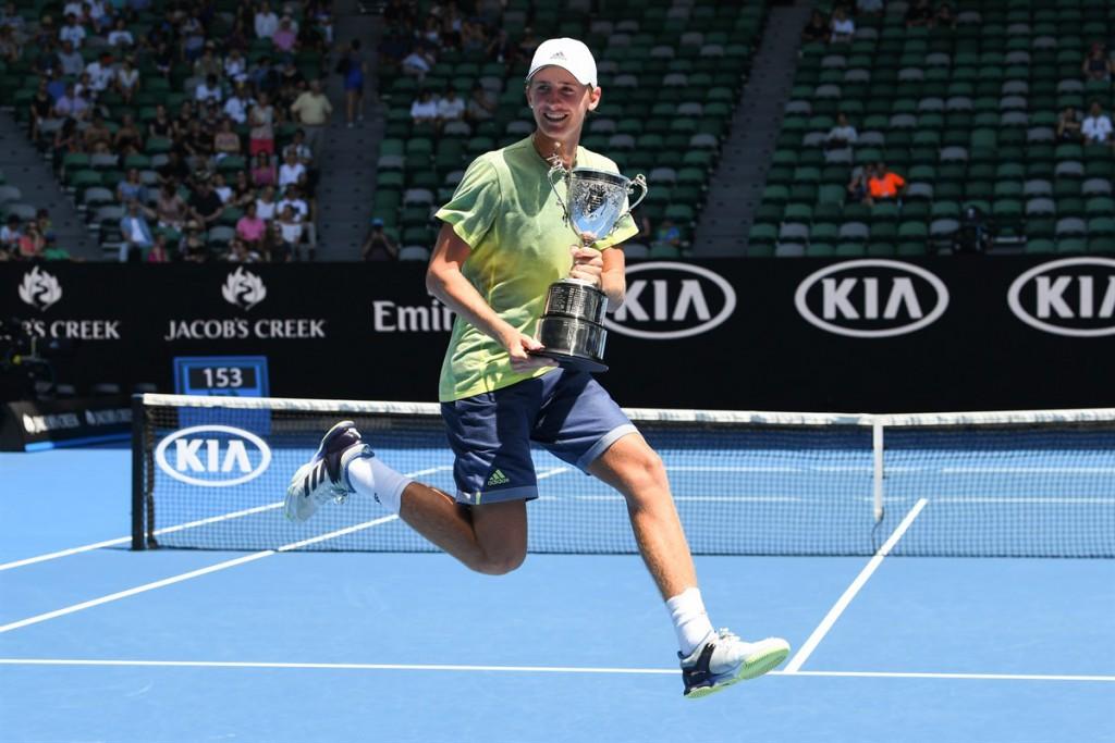 O norte-americano Sebastian Korda volta à liderança do ranking mundial juvenil (Foto: Martin Sidorjak/ITF)