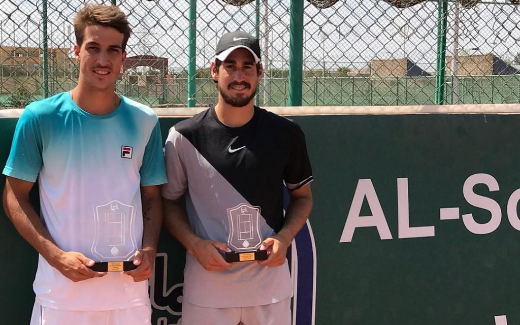 Felipe Alves levou a melhor sobre Orlando Luz no Egito e conquistou seu primeiro torneio
