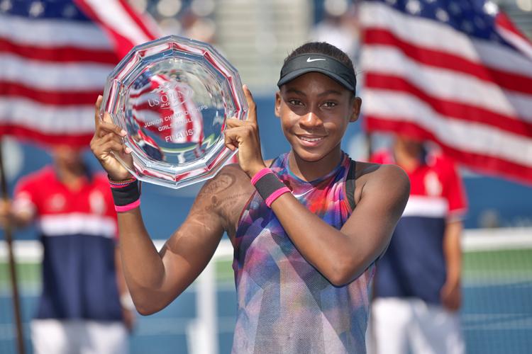 Gauff já se destacou em um Grand Slam juvenil e foi finalista do US Open da categoria no ano passado (Foto: Arata Yamaoka/ITF)