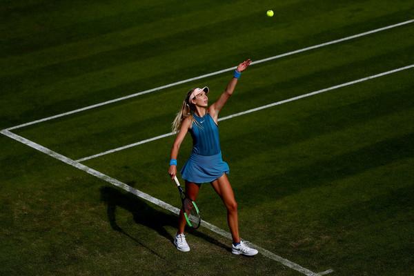 Katie Boulter foi convidada para Wimbledon depois de bons resultados em WTA e ITF na grama