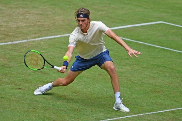 Tsitsipas atingiu o melhor ranking da carreira e será cabeça de chave em Wimbledon