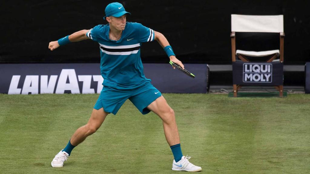 Rudolf Molleker venceu seus dois primeiros jogos de ATP em 2018