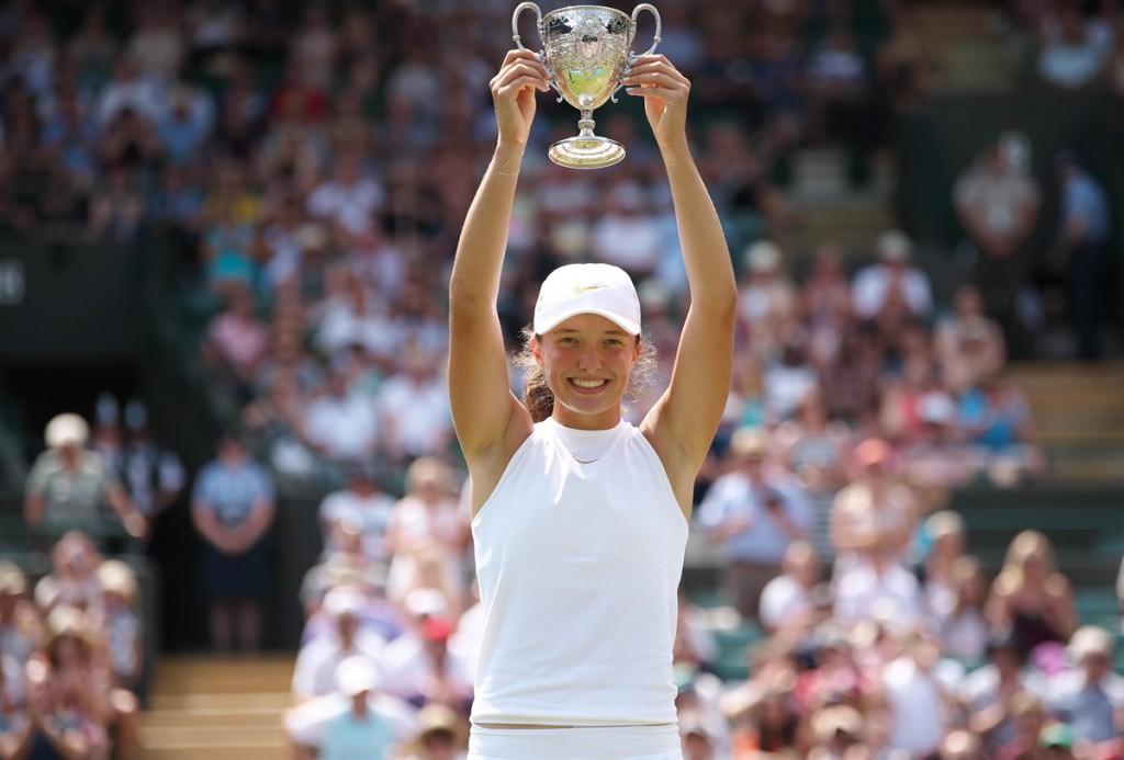 Iga Swiatek só está disputando os Grand Slam como juvenil este ano. Ela já venceu cinco torneios profissionais