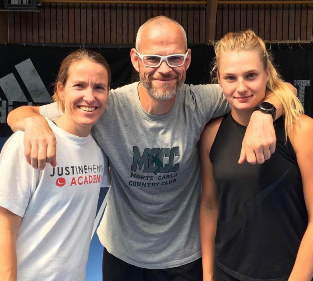 A ucraniana de 18 anos Dayana Yastremska será treinada por Justine Henin em NY