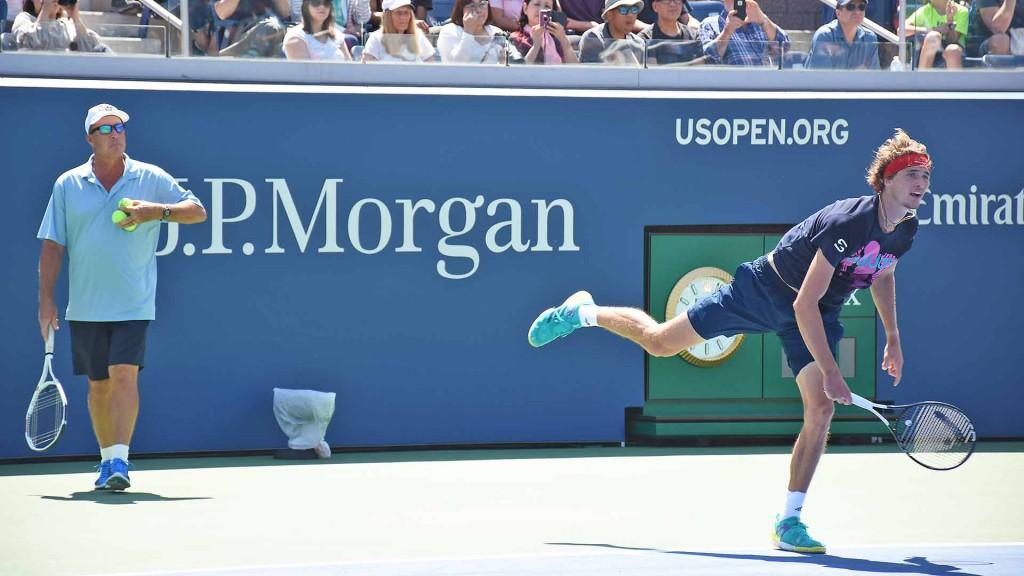 Zverev terá a parceria de Ivan Lendl no US Open (Foto: Andrew Eichenholz/ATP)