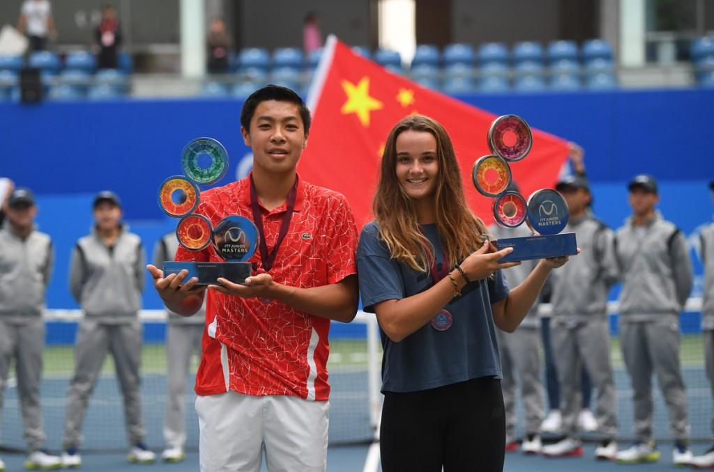 Brandon Nakashima e Clara Burel venceram a quarta edição do evento em Chengdu (Foto: Paul Zimmer/ITF)
