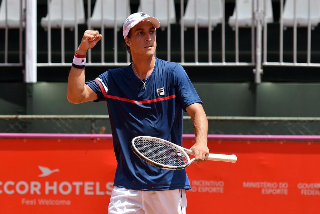 Felipe Alves conseguiu a maior vitória da carreira em 2018 e mira o quali de Roland Garros (Foto: João Pires/Fotojump)