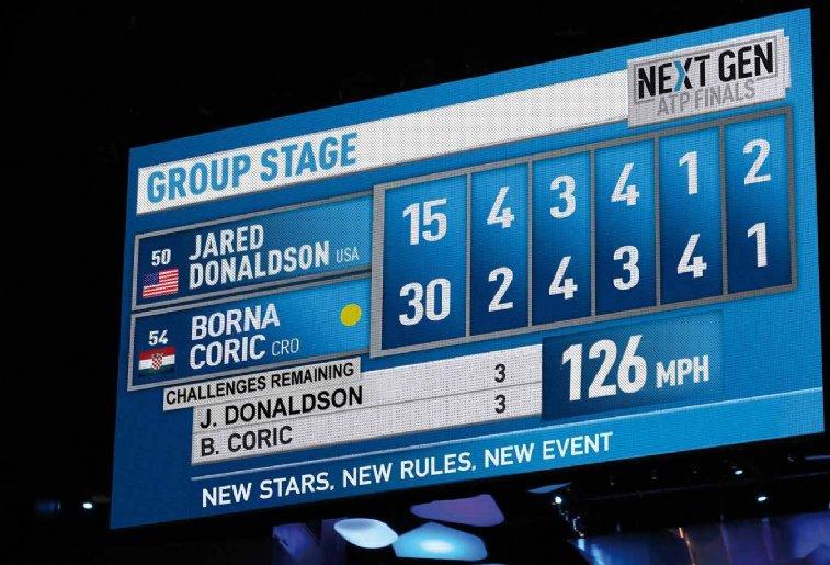 Disputas serão em cinco sets, definidos em até quatro games.