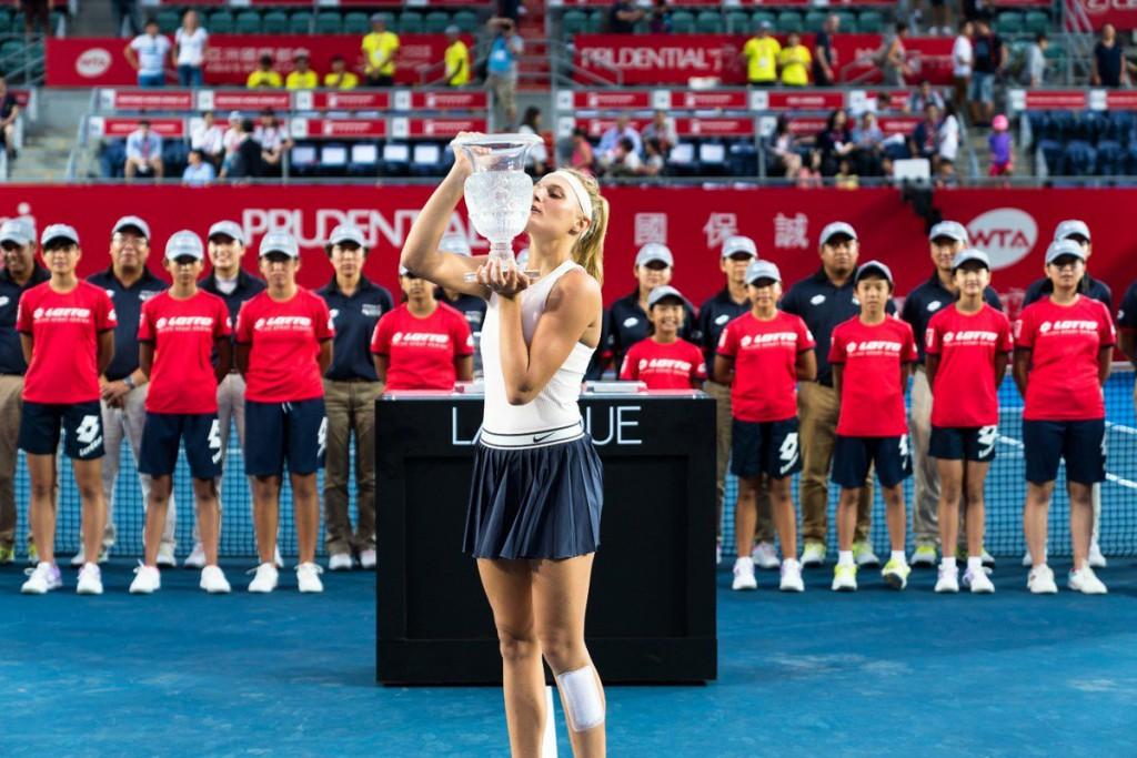 Dayana Yastremska termina o ano com título de WTA e perto do top 50