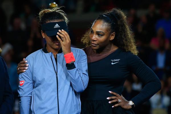 Osaka nunca escondeu sua admiração por Serena Williams