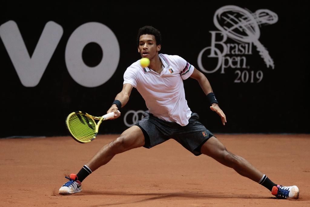 7eff5d6273e Felix Auger-Aliassime disputou sua primeira final de ATP no Rio e chegou às  quartas