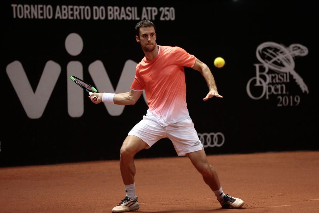 Campeão no Rio e semifinalista em São Paulo, Laslo Djere emocionou a todos com sua história de vida. (Foto: Marcello Zambrana/DGW)