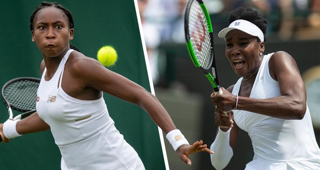Cori Gauff nasceu em 2004, quando Venus já tinha quatro títulos de Grand Slam (Foto: AELTC/Florian Eisele)