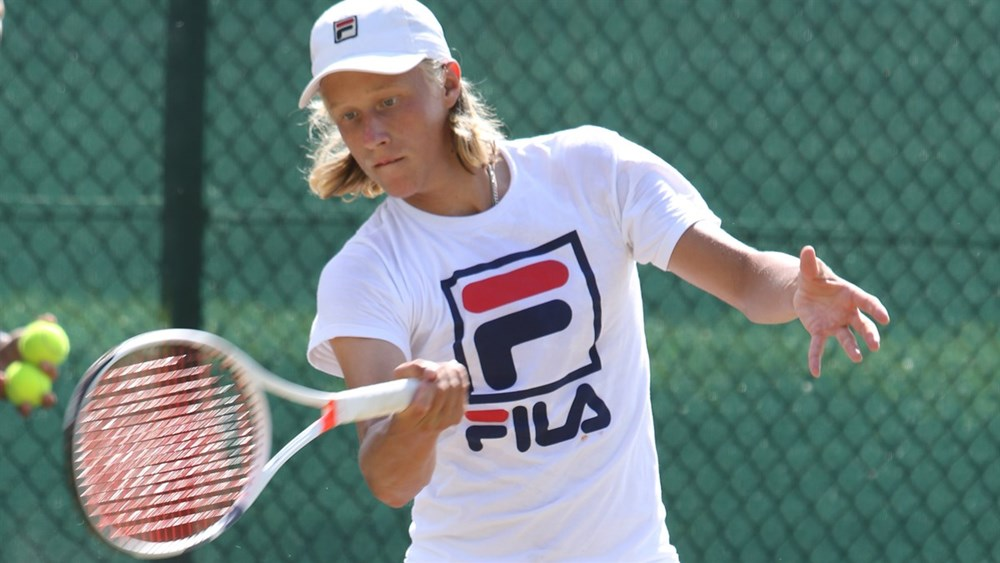 Leo Borg dispuará o quali para o torneio juvenil de Wimbledon (Foto: Rowland Charles Goodman)