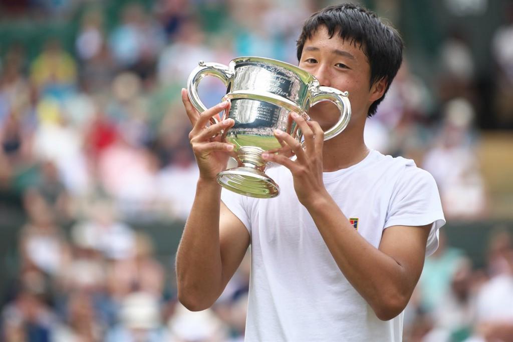 Shintaro Mochizuki é o primeiro japonês a ganhar um Grand Slam juvenil no masculino (Foto: Arata Yamaoka)
