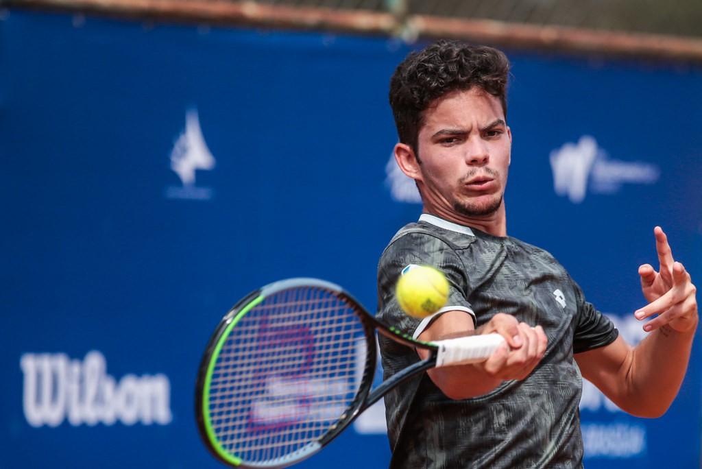 O baiano Natan Rodrigues é o sétimo do ranking juvenil (Foto Marcello Zambrana/CBT)