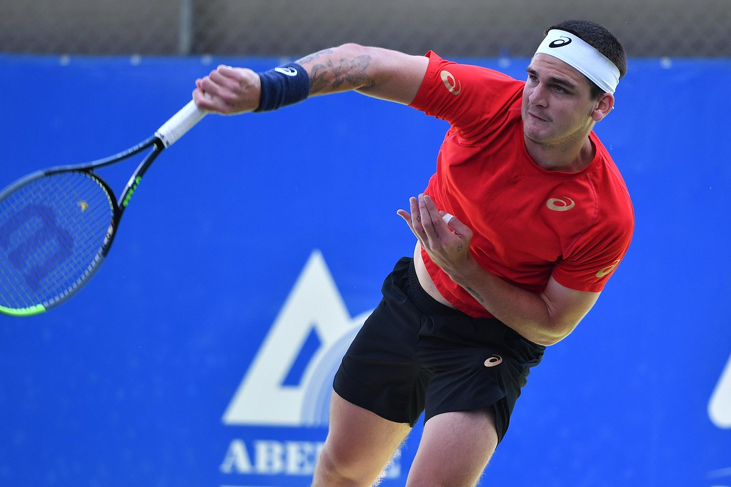 Thiago Wild, de 20 anos, disputará o primeiro Grand Slam da carreira profissional (Foto: João Pires/Fotojump)