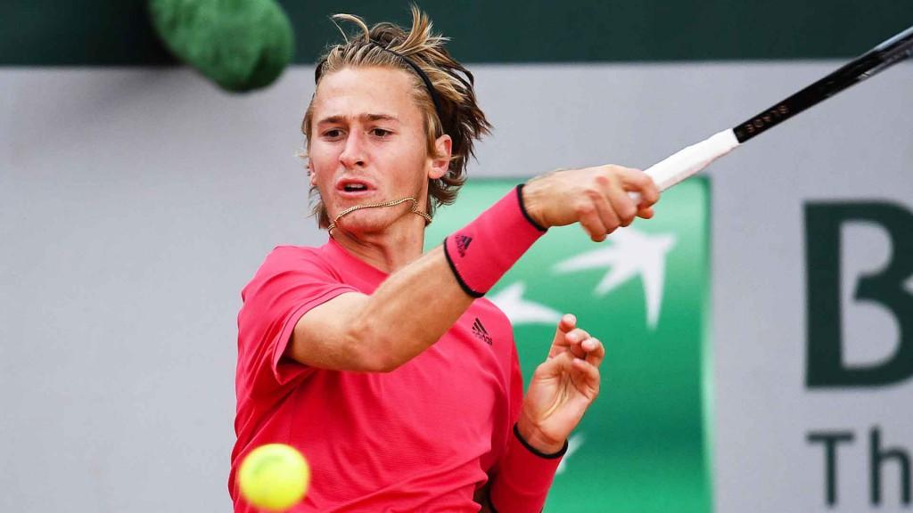 O jovem norte-americano de 20 anos Sebastian Korda disputará seu segundo Grand Slam (Peter Staples/ATP Tour)