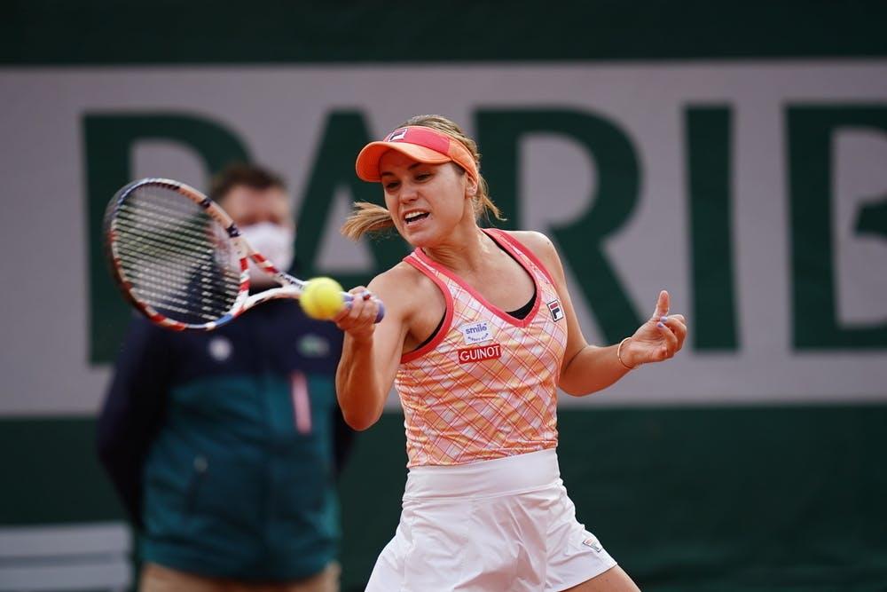 Aos 21 anos, Sofia Kenin vai em busca do segundo título de Grand Slam (Foto: Nicolas Gouhier)