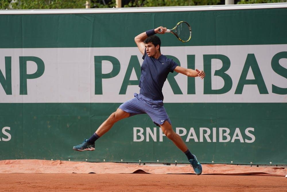 Alcaraz disputará seu segundo Grand Slam e se sente mais preparado agora do que na Austrália (Foto: Cédric Lecocq/FFT)