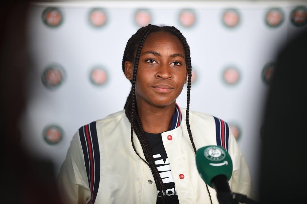 Gauff diz que resultados recentes não trazem pressão, mas sim confiança (Foto: Corinne Dubreuil/FFT)