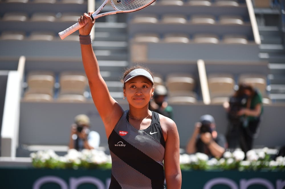 Osaka anunciou a desistência de Roland Garros por complicações relacionadas à sua saúde mental. (Foto: Corinne Dubreuil/FFT)