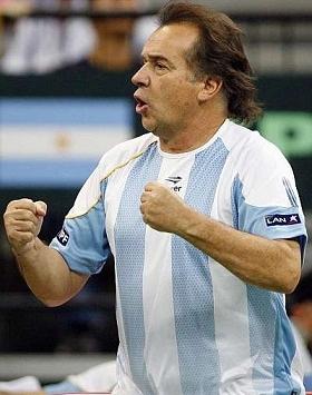 Capitão argentino chamará 5 para final da Davis
