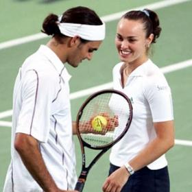 Federer e Hingis não jogarão Olimpíada juntos