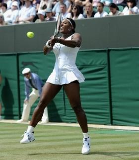 Serena reclama por jogar na quadra 2