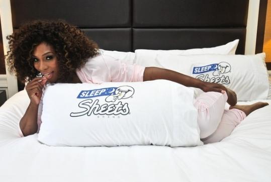 Serena lança linha de lençóis em Nova York
