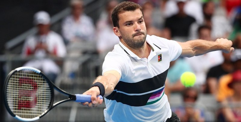 78a088112f7 Indian Wells (EUA) - A temporada não vem sendo muito boa para o búlgaro  Grigor Dimitrov