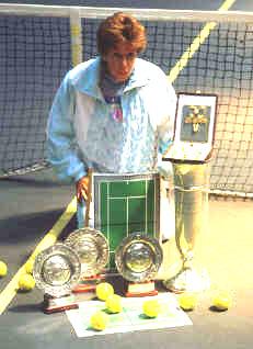 Maria Esther Bueno ganhou oito títulos no templo do tênis